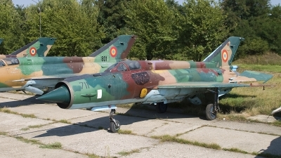 Photo ID 35778 by Chris Lofting. Romania Air Force Mikoyan Gurevich MiG 21M Lancer A, 711