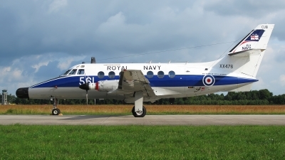 Photo ID 36134 by Jens Wiemann. UK Navy Scottish Aviation HP 137 Jetstream T2, XX476