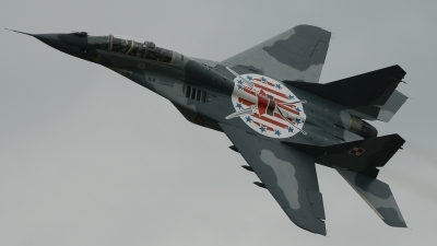 Photo ID 36254 by Tim Van den Boer. Poland Air Force Mikoyan Gurevich MiG 29UB 9 51, 15
