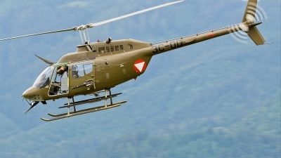 Photo ID 36471 by Alex van Noye. Austria Air Force Bell OH 58B Kiowa, 3C OD