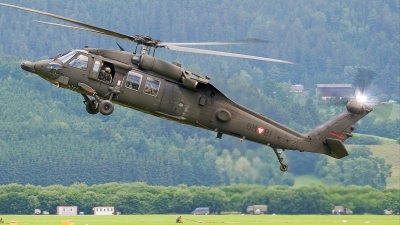 Photo ID 36476 by Alex van Noye. Austria Air Force Sikorsky S 70A 42 Black Hawk, 6M BI