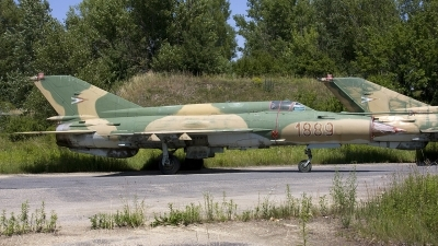 Photo ID 36621 by Chris Lofting. Hungary Air Force Mikoyan Gurevich MiG 21bis SAU, 1889