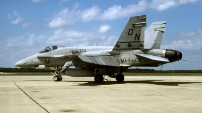 Photo ID 36734 by David F. Brown. USA Marines McDonnell Douglas F A 18A Hornet, 161976