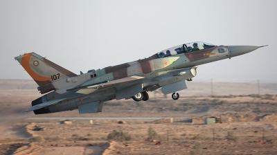 Photo ID 36690 by Andreas Zeitler - Flying-Wings. Israel Air Force Lockheed Martin F 16I Sufa Fighting Falcon, 107