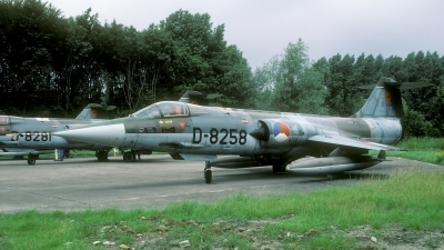 Photo ID 36904 by Joop de Groot. Netherlands Air Force Lockheed F 104G Starfighter, D 8258