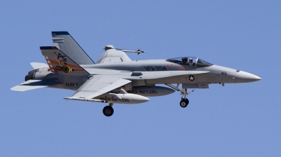 Photo ID 4505 by Paul Dopson. USA Navy McDonnell Douglas F A 18A Hornet,