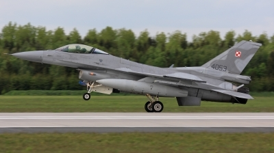 Photo ID 37309 by Ales Hottmar. Poland Air Force General Dynamics F 16C Fighting Falcon, 4053