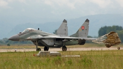 Photo ID 37548 by Roman Mr.MiG. Slovakia Air Force Mikoyan Gurevich MiG 29AS, 6124