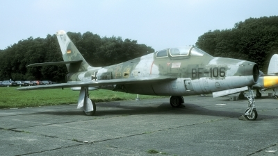 Photo ID 37779 by Joop de Groot. Germany Air Force Republic F 84F Thunderstreak, BF 106