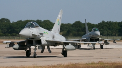 Photo ID 37855 by Gary Stedman. UK Air Force Eurofighter EF 2000 Typhoon FGR4, ZJ918