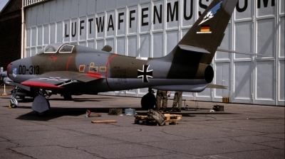 Photo ID 38008 by Alex Staruszkiewicz. Germany Air Force Republic F 84F Thunderstreak, DD 313