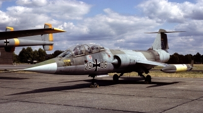Photo ID 37975 by Alex Staruszkiewicz. Germany Air Force Lockheed F 104F Starfighter, 29 06