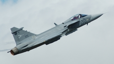 Photo ID 38096 by Chris Milne. Hungary Air Force Saab JAS 39C Gripen, 30
