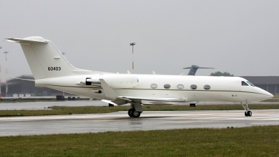 Photo ID 38295 by PAUL CALLAGHAN. USA Air Force Gulfstream Aerospace C 20B Gulfstream III, 86 0403