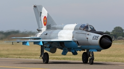 Photo ID 38340 by Ales Hottmar. Romania Air Force Mikoyan Gurevich MiG 21MF 75 Lancer C, 6305