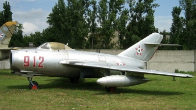 Photo ID 39073 by Péter Szentirmai. Hungary Air Force Mikoyan Gurevich MiG 15bis, 912