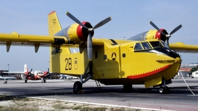 Photo ID 38768 by CHARLES OSTA. France Securite Civile Canadair CL 215 1A10, F ZBBI