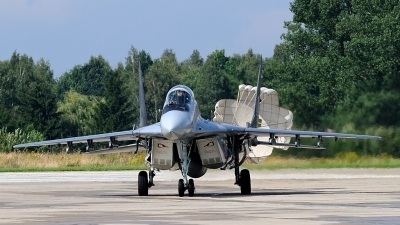 Photo ID 38668 by Slawomir Szychowski. Poland Air Force Mikoyan Gurevich MiG 29A, 115