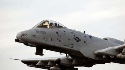 Photo ID 38986 by Alex Staruszkiewicz. USA Air Force Fairchild A 10A Thunderbolt II, 81 0960