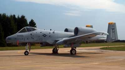 Photo ID 38989 by Alex Staruszkiewicz. USA Air Force Fairchild A 10A Thunderbolt II, 81 0960