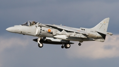 Photo ID 38996 by Bert van Wijk. Spain Navy McDonnell Douglas EAV 8B Harrier II Plus, VA 1B 24