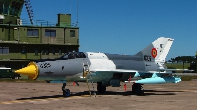 Photo ID 4768 by Andy Walker. Romania Air Force Mikoyan Gurevich MiG 21MF 75 Lancer C, 6305