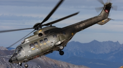 Photo ID 39044 by Ales Hottmar. Switzerland Air Force Aerospatiale TH89 Super Puma AS 332M1, T 313