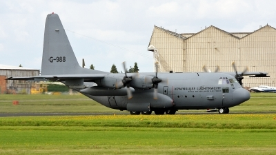 Photo ID 39592 by PAUL CALLAGHAN. Netherlands Air Force Lockheed C 130H Hercules L 382, G 988