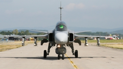 Photo ID 39654 by Milos Ruza. Czech Republic Air Force Saab JAS 39D Gripen, 9819