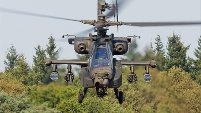 Photo ID 39741 by Alex van Noye. Netherlands Air Force Boeing AH 64D Apache, Q 18