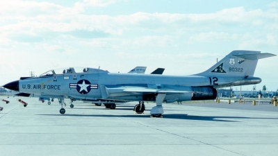Photo ID 39674 by Robert W. Karlosky. USA Air Force McDonnell F 101B Voodoo, 58 0322