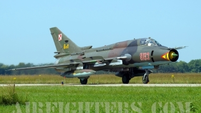 Photo ID 4878 by Jörg Pfeifer. Poland Air Force Sukhoi Su 22M4 Fitter K, 8103