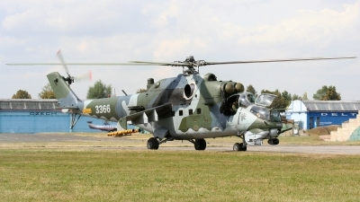 Photo ID 39884 by Milos Ruza. Czech Republic Air Force Mil Mi 35, 3366