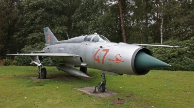Photo ID 39925 by Jimmy van Drunen. Russia Air Force Mikoyan Gurevich MiG 21PFMN, 47 RED