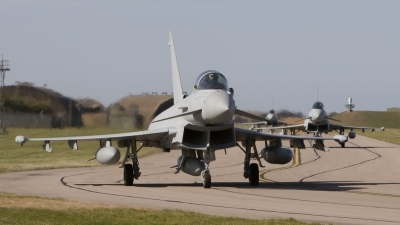 Photo ID 40593 by Tom Gibbons. UK Air Force Eurofighter EF 2000 Typhoon FGR4, ZJ944