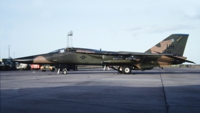 Photo ID 40599 by Tom Gibbons. USA Air Force General Dynamics F 111E Aardvark, 68 0046
