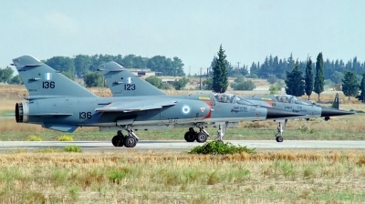 Photo ID 40699 by Arie van Groen. Greece Air Force Dassault Mirage F1CG, 136