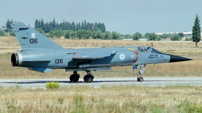 Photo ID 40839 by Arie van Groen. Greece Air Force Dassault Mirage F1CG, 136