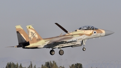 Photo ID 41130 by Stefano Sitzia. Israel Air Force McDonnell Douglas F 15I Ra 039 am, 209