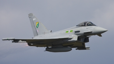 Photo ID 41228 by Joerg Amann. UK Air Force Eurofighter EF 2000 Typhoon F2, ZJ925