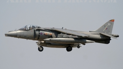 Photo ID 5090 by Stephen J Muscat. UK Air Force British Aerospace Harrier GR9, ZD375