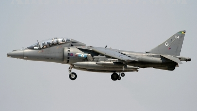 Photo ID 5096 by Stephen J Muscat. UK Air Force British Aerospace Harrier T10, ZJ656