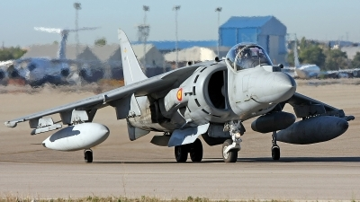 Photo ID 41426 by Javier Bozzino Barbudo. Spain Navy McDonnell Douglas EAV 8B Harrier II Plus, VA 1B 24