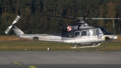 Photo ID 41696 by Günther Feniuk. Poland Air Force Bell 412 HP, 02