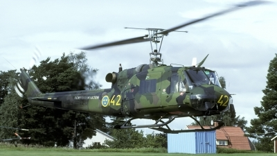 Photo ID 41787 by Joop de Groot. Sweden Armed Forces Agusta Bell Hkp 3C AB 204B, 03302