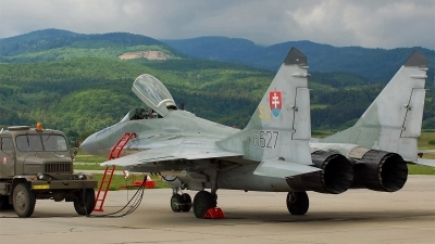 Photo ID 41898 by Roman Mr.MiG. Slovakia Air Force Mikoyan Gurevich MiG 29AS, 6627