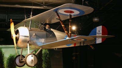 Photo ID 42470 by Johannes Berger. UK Air Force Nieuport 27 Replica, N5597M