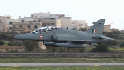 Photo ID 42164 by Stephen J Muscat. India Air Force BAE Systems Hawk 132, A3480