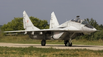 Photo ID 42299 by Chris Lofting. Russia Air Force Mikoyan Gurevich MiG 29UB 9 51, 37 RED