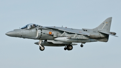 Photo ID 42388 by Lieuwe Hofstra. Spain Navy McDonnell Douglas EAV 8B Harrier II Plus, VA 1B 29